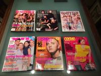 Collector fashion publications ... 6 in total which