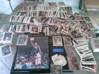 We have a box of basketball cards from the early 90s.