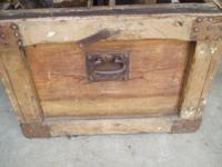 "Measures 40"" long x 24"" wide x 19"" high  This tool box"
