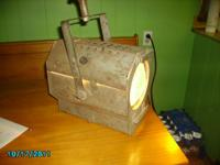 early stage/theater light, WORKS, octagon shape, the