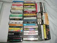 Over 60 Cassette Tapes Early works from artists