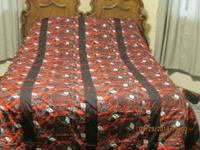 Dale Earnhardt, jr. queen comforter 101x93. It is