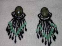 Native American made Earrings, purchased in Arizona in