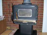 Earth Stove Brand wood stove. Great little stove we