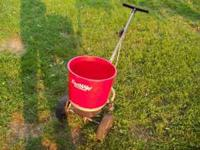 I have an Earth Way Ev-N-Spread lawn spreader / seeder
