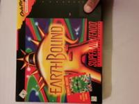 Earthbound for SNES with original big box. The guide