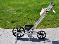 The Earthway Precision garden seeder provides a more