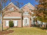Beautiful brick home, cul-de-sac lot in award winning