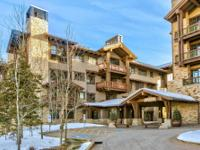 Exceptional Bald Mountain and ski slope views from this