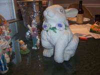 Easter Bunny Home decor decorations. Will sell the
