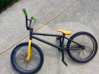 i have a light weight bmx bike with lots of parts