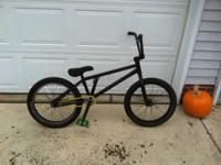 Eastern Reaper built bmx bike for sale. Very light bike