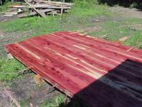 eastern red cedar lumber3/4, 4/4, 8/4 thick8-10 foot
