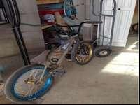 I am offering my Eastern Tramp bmx bike. It's a
