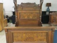 Antique Eastlake Half with matching Dresser. It is in