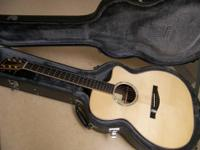 For sale is my Eastman 812CE. I recently purchased this