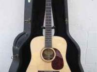 Check out this clean Eastman Acoustic Guitar! The solid