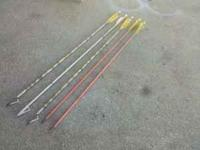 I have 5 Easton aluminum arrows for sale with