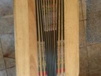 "12 Easton Bloodline N-fused 400 arrows 7.7 GPI 29"" with"