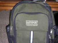 Eastport outdoor back pack Good Condition Green and