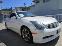 Year: 2004 Make: INFINITI Model: G35 Odometer:155822