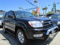 Year: 2004 Make: TOYOTA Model: 4RUNNER SR5 Odometer: