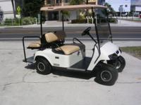 "Easy Go Golf Cart Dextron ""Like New"" New battery ($200"