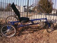Descripción This trike is fun and functional It is