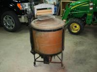 Easy vacuum copper washing equipment made by Syracuse