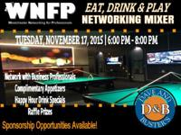 Let's kick off the holiday season with some networking,