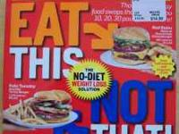 EAT THIS NOT THAT Restaurant Survival Guide. The