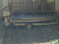 great running ebbtide bass boat with 115 johnson and