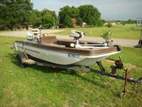 Description 1974 Ebbtide bassboat. Great shape solid
