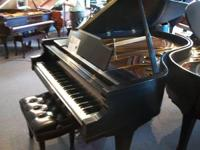 "Used Kimball 6'7"" grand piano, serial #B70581. Made in"