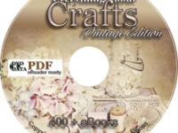 400+ eBooks Knitting & Crocheting Quilting Sewing &
