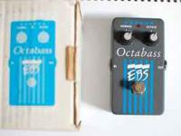 EBS Octabass bass pedal - creates an octave tone below