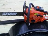 The ECHO 18 in. Gas 40.2 cc Chain Saw features a 40.2