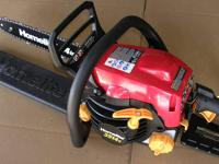 Like New The Echo 18 in. Gas 40.2 cc Chainsaw features