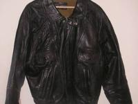 Real Nice Brown Adventure Bound By Wilson Leather Jacket for Sale
