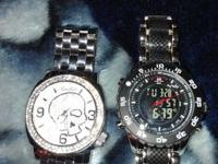 Both watches are nice paid 125 for ecko watch both for