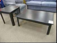 This Coffee & End Table set is gently used and will