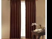 "I have 4 - 42""x63"" Eclipse Drape Panels in the Braxton"