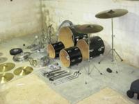 Complete drum set Up For Sale is a Complete Drumset