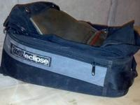 Eclipse Tank Bag. Good Condition. Used. Includes: