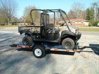 Econoline Trailer New 5x10 SideKick Tilt Trailer with