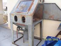 Econoline's WD 40 X 38 sandblast cabinet USED NEEDS