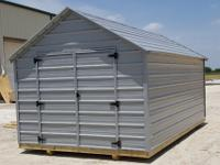 10'x12' Economy Metal Utility Storage Portable