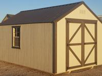 10'x16' Economy Wood Utility Storage Shed, Portable