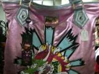 I have a new Large Ed Hardy tote handbag. 100%