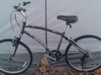 Up for grabs is this very nice Eddie Bauer hybrid bike